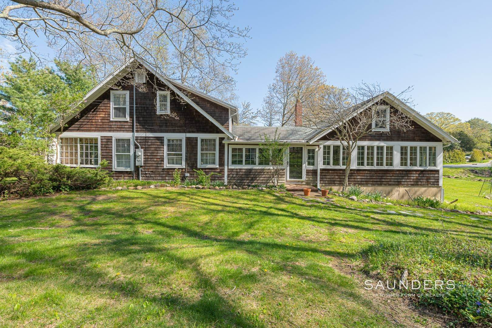 Single Family Homes at Charming Cottage By The Bay 2 Turtle Pond Road, Southampton, Southampton Town, NY 11968