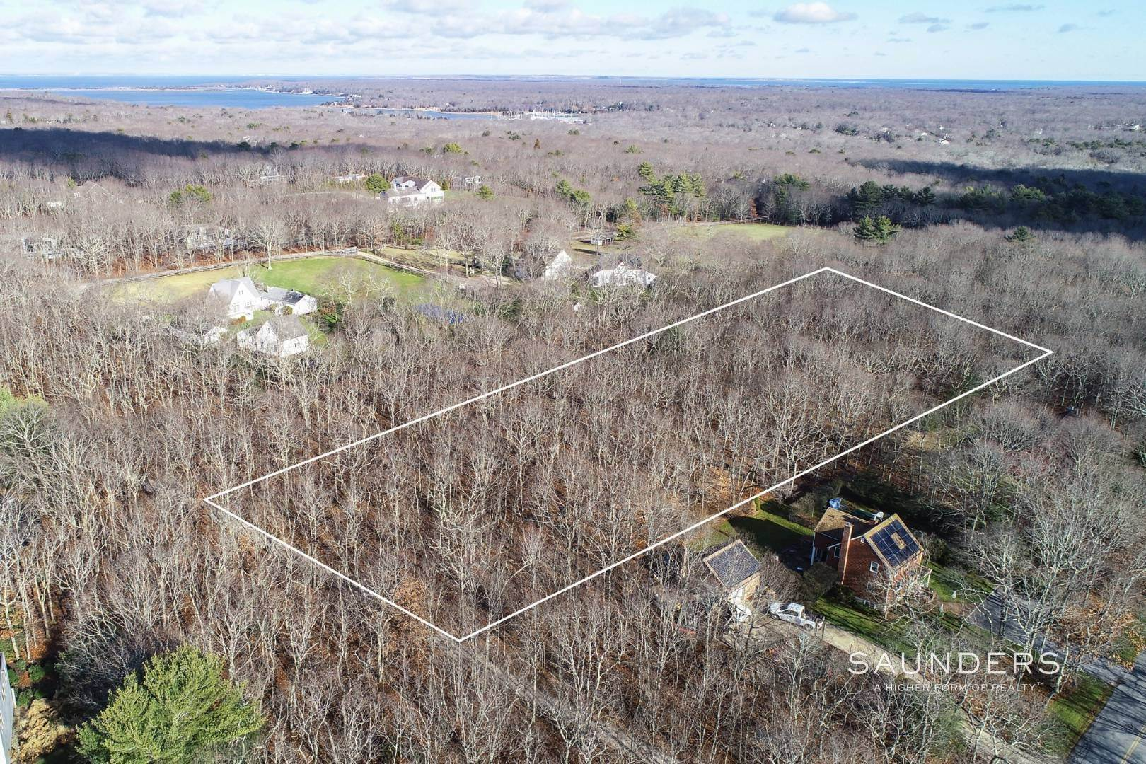 Land for Sale at East Hampton Estate Opportunity With Tennis 141 Middle Highway, East Hampton, East Hampton Town, NY 11937