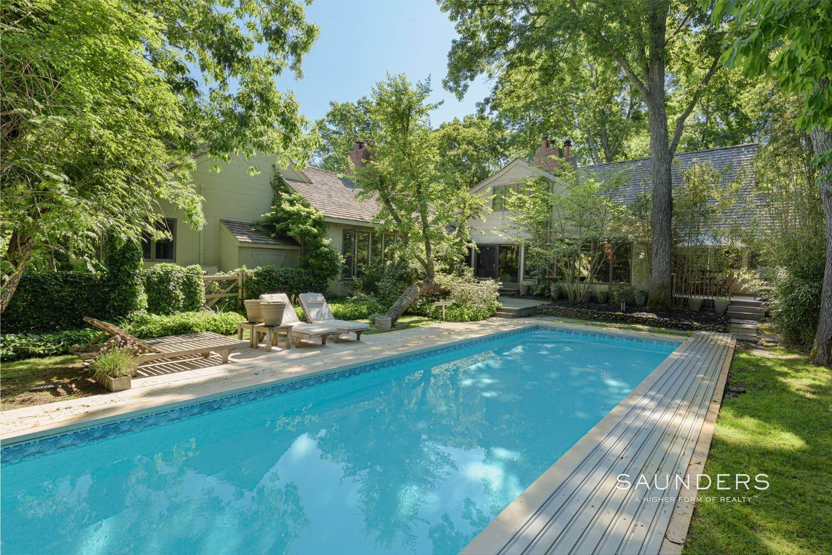 5. Single Family Homes for Sale at Private Beach, Tennis, Pool And Beautiful Grounds 4 Scott's Landing Road, Southampton, Southampton Town, NY 11968