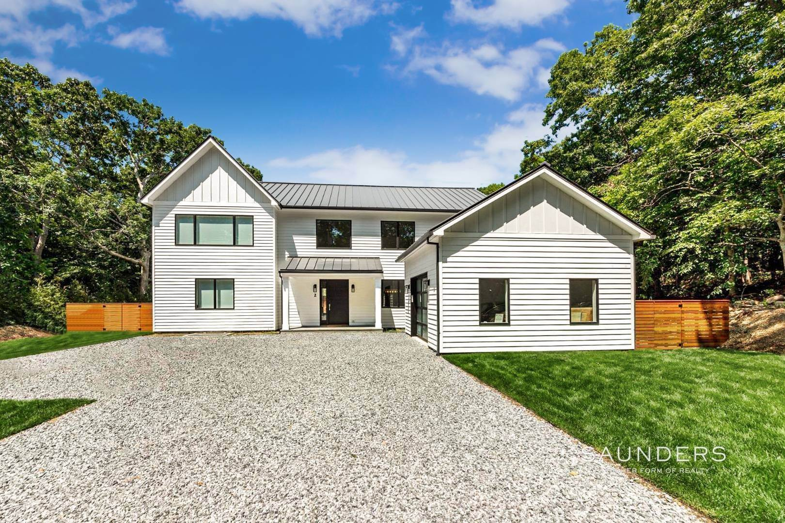 Single Family Homes at Sprawling Contemporary Moments From Three Mile Harbor 2 Three Mile Harbor Hog Creek Road, East Hampton, East Hampton Town, NY 11937