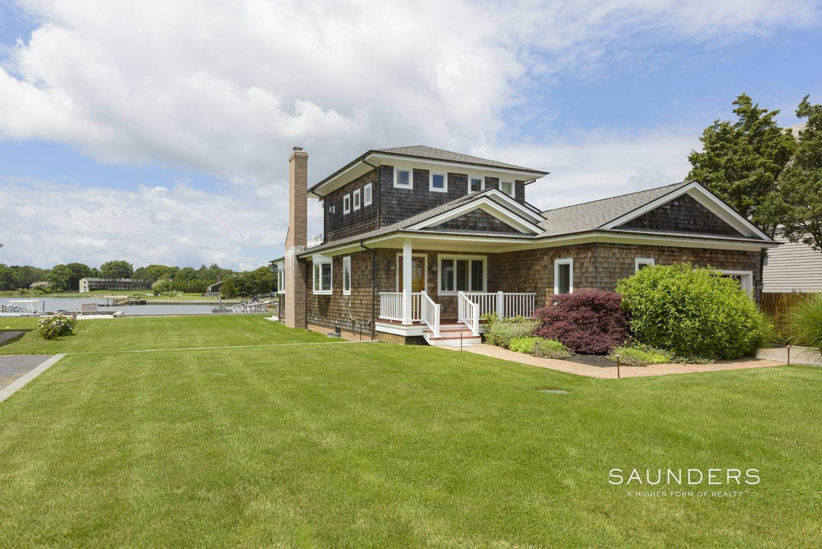3. Single Family Homes for Sale at Southampton Waterfront With Dock 7 Middle Pond Lane, Southampton, Southampton Town, NY 11968