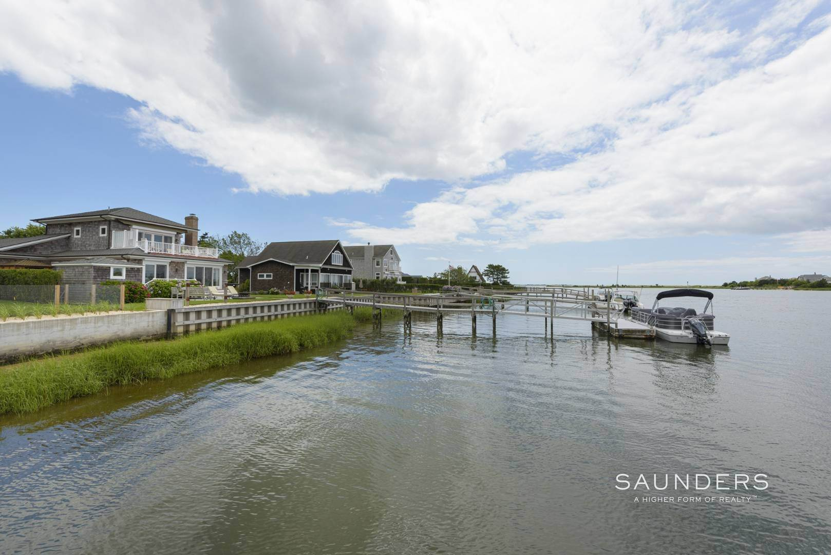 6. Single Family Homes for Sale at Southampton Waterfront With Dock 7 Middle Pond Lane, Southampton, Southampton Town, NY 11968