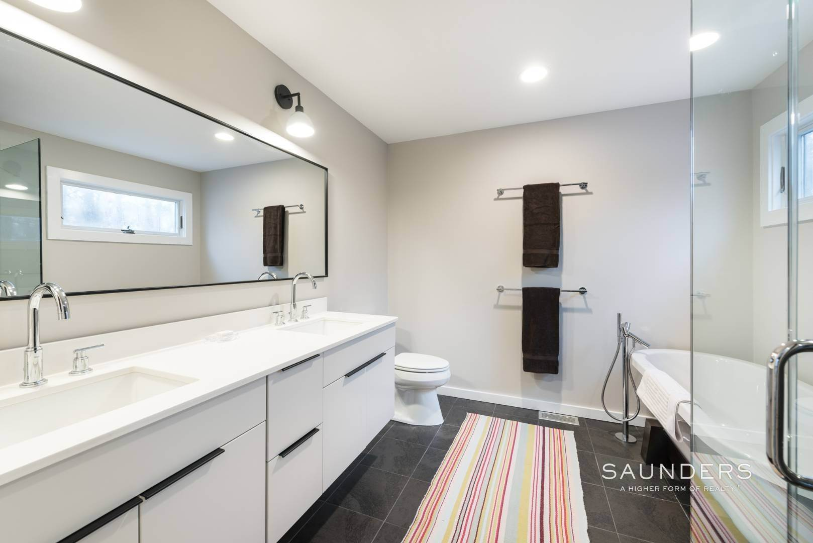 11. Single Family Homes for Sale at Sagaponack Impeccable Newly Renovated Contemporary 877 Sagg Road, Sagaponack, Southampton Town, NY 11962