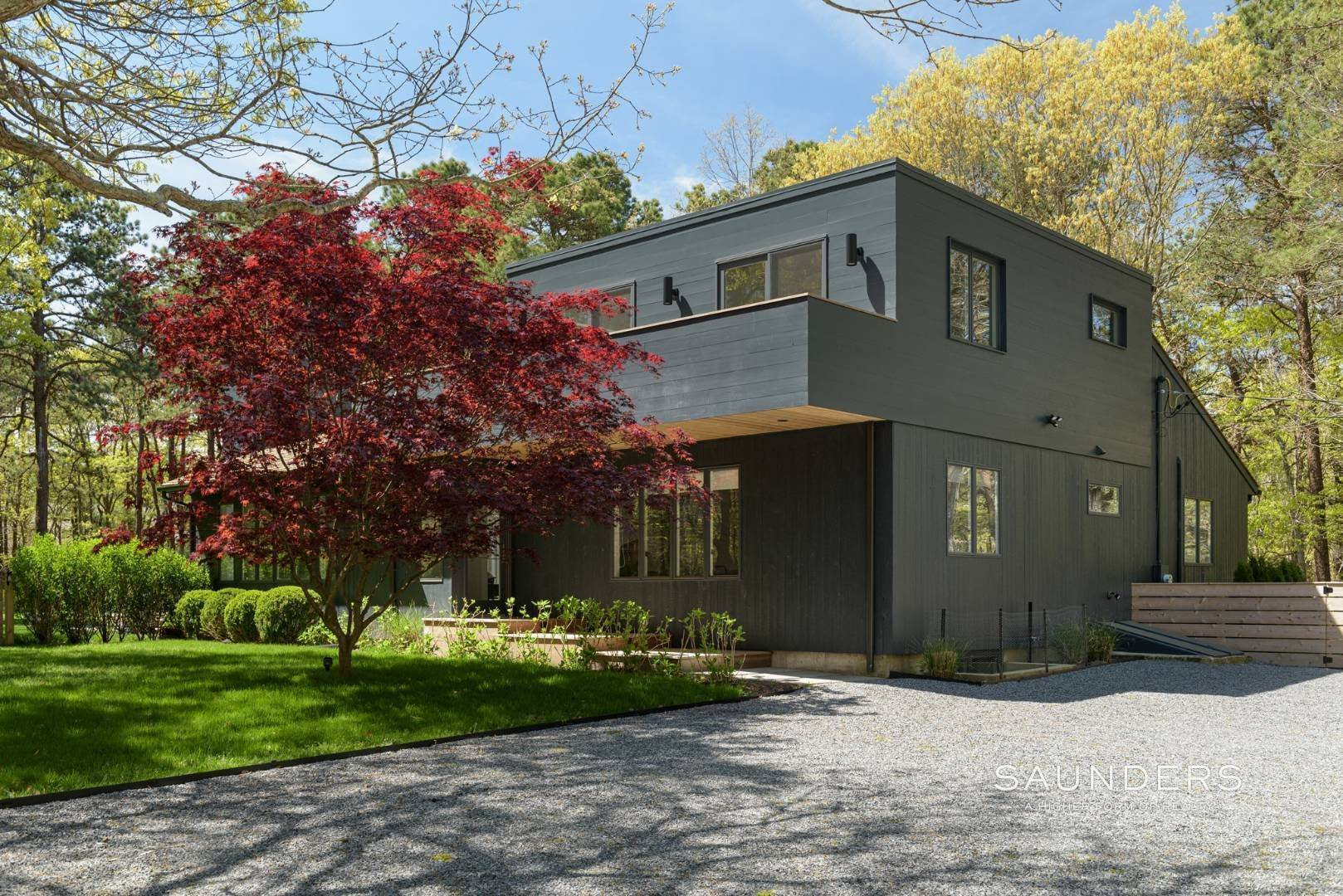 2. Single Family Homes for Sale at Sagaponack Impeccable Newly Renovated Contemporary 877 Sagg Road, Sagaponack, Southampton Town, NY 11962