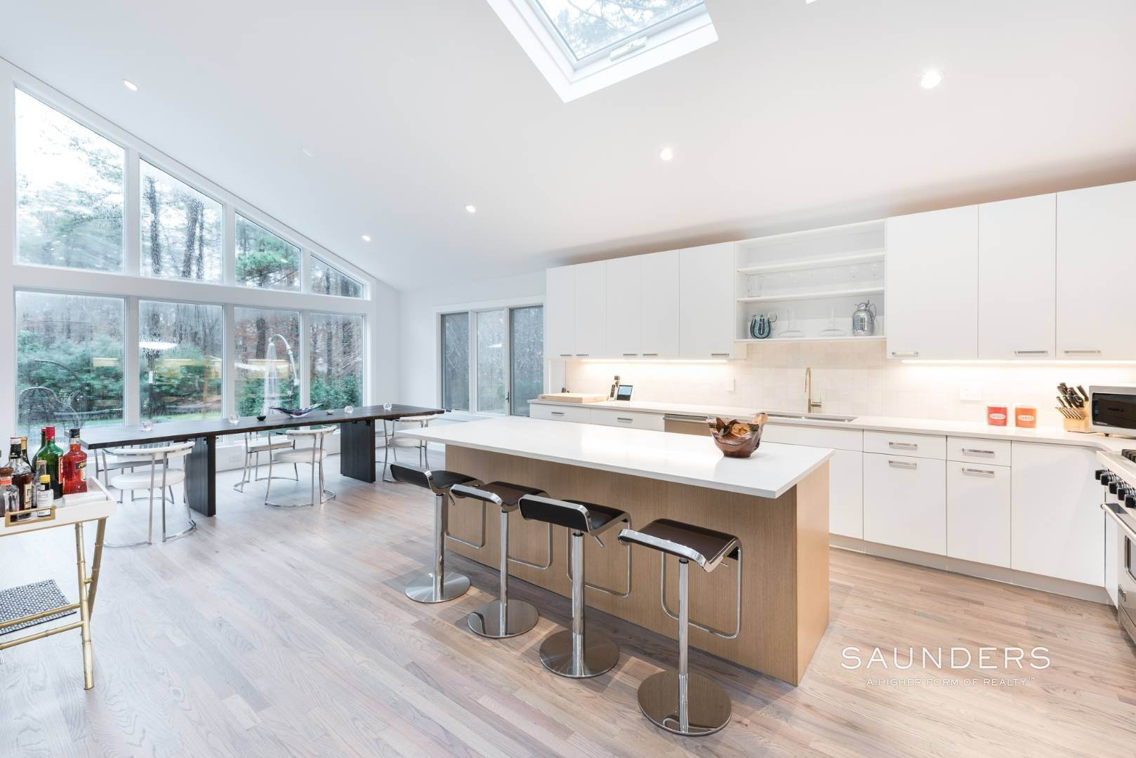 7. Single Family Homes for Sale at Sagaponack Impeccable Newly Renovated Contemporary 877 Sagg Road, Sagaponack, Southampton Town, NY 11962