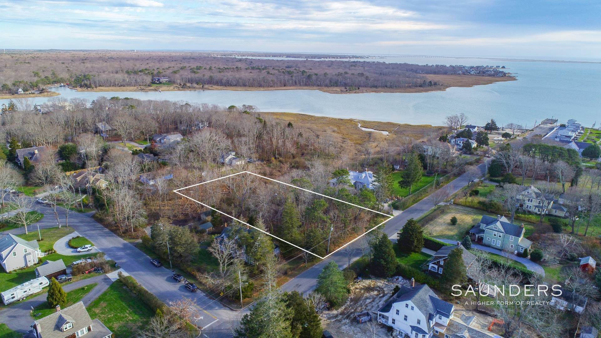 Land for Sale at Fabulous Water Views On Prime Street In East Quogue 23 Bay Avenue, East Quogue, Southampton Town, NY 11942