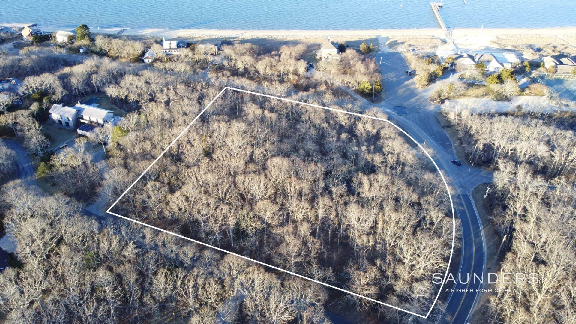 Land for Sale at Once In A Lifetime Building Lot 15 Cross Highway, Amagansett, East Hampton Town, NY 11930
