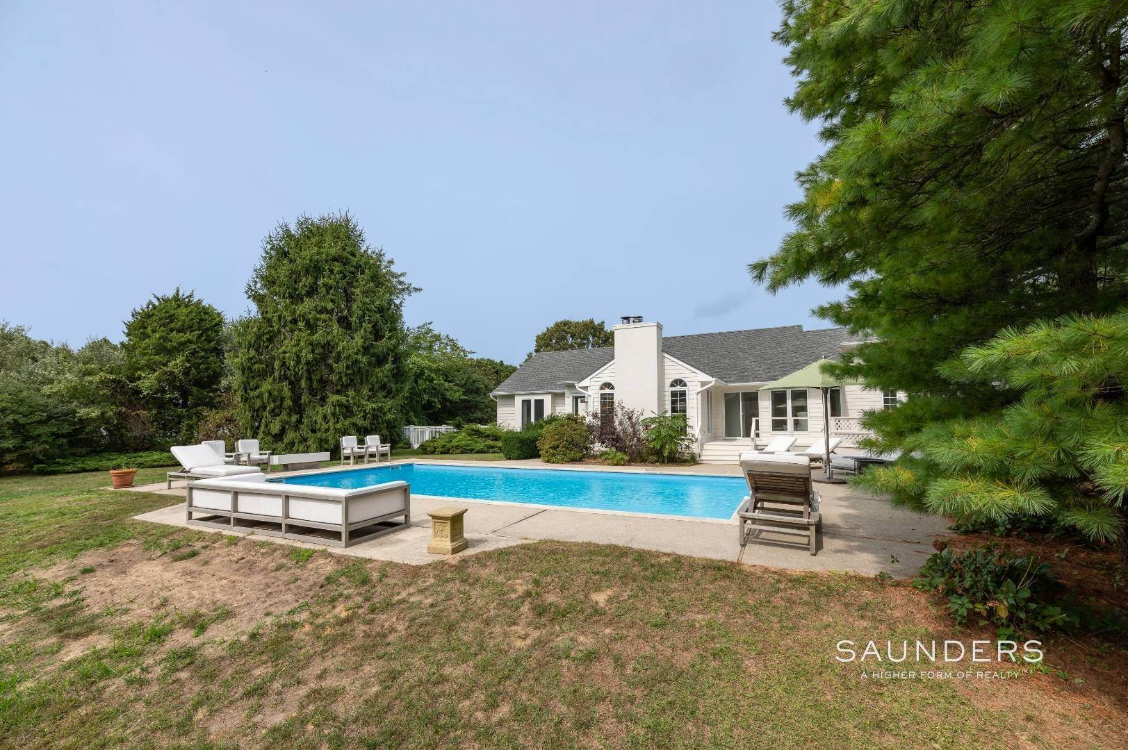 31. Single Family Homes at A Must See Beauty With Pool Water Mill 56 Lower Seven Ponds Road, Water Mill, Southampton Town, NY 11976