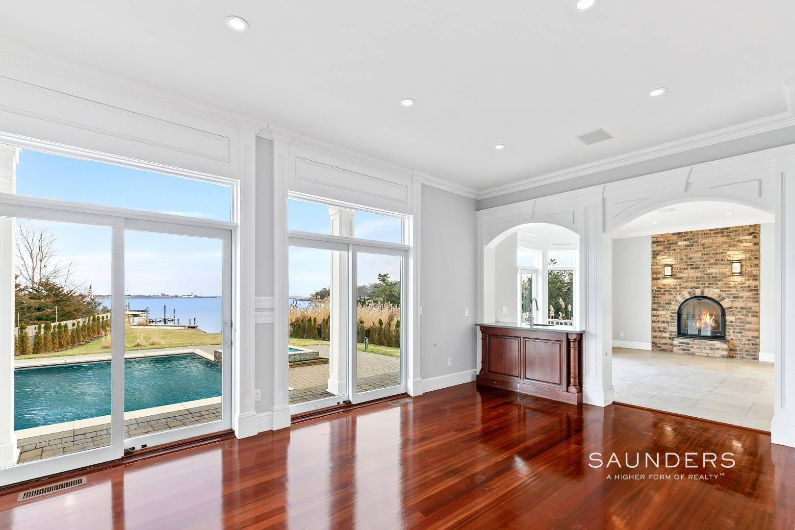 6. Single Family Homes for Sale at Waterfront Estate 99 Paquatuck Avenue, East Moriches, Hamptons Fringe, NY 11940