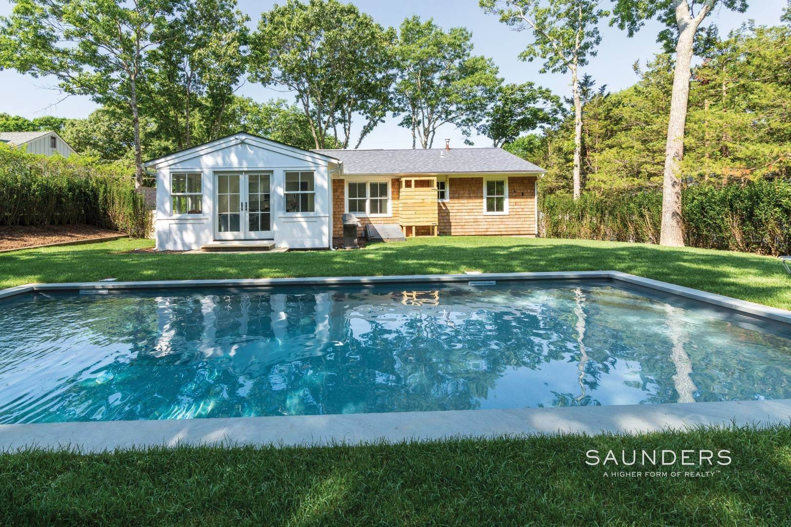 Single Family Homes at Summer In Style 38 Oak Drive, Sag Harbor, Southampton Town, NY 11963