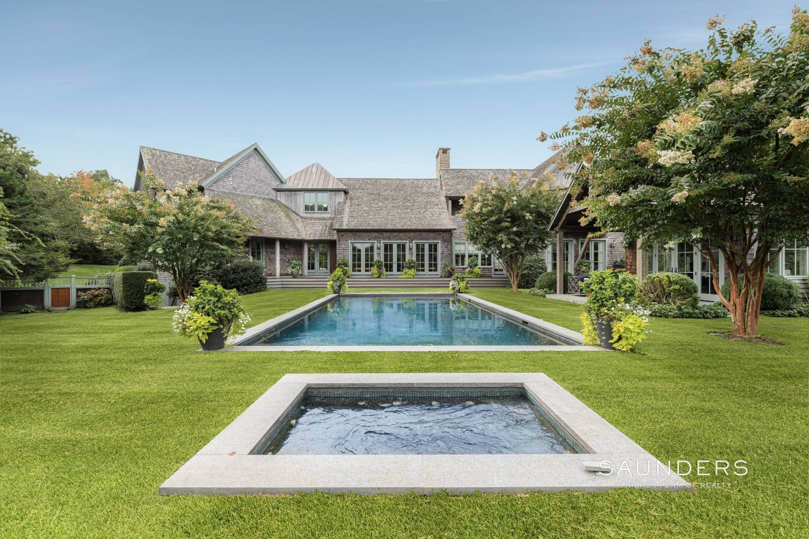 Single Family Homes for Sale at 3 Acre Water Mill Estate With Tennis 899 North Sea Mecox Road, Water Mill, Southampton Town, NY 11976