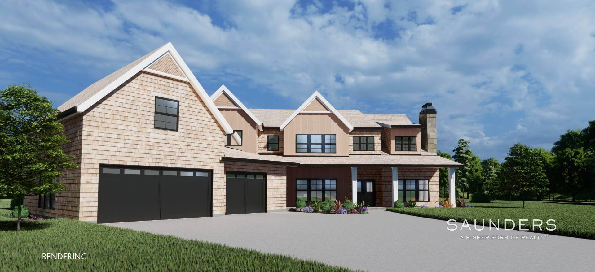 7. Single Family Homes for Sale at Sagaponack New Construction With Pool And Tennis 21 Forest Crossing, Sagaponack, Southampton Town, NY 11962