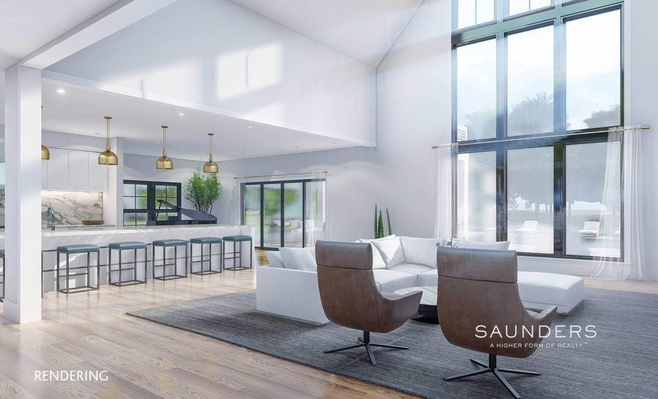 4. Single Family Homes for Sale at Sagaponack New Construction With Pool And Tennis 21 Forest Crossing, Sagaponack, Southampton Town, NY 11962