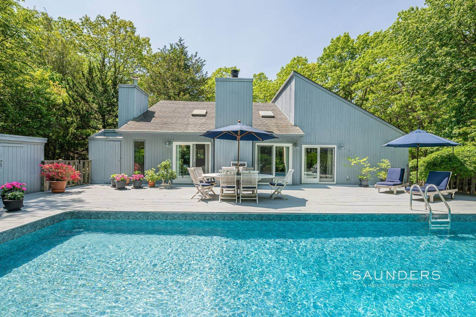 Single Family Homes for Sale at Beach House By The Bay 31 Long Woods Lane, East Hampton, East Hampton Town, NY 11937