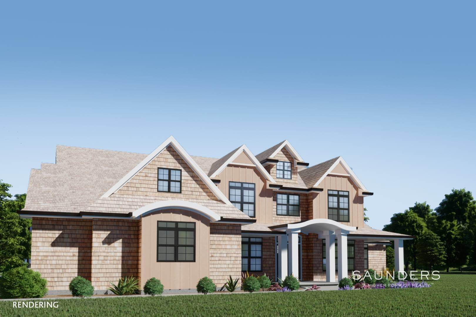 6. Single Family Homes for Sale at New Construction In Sagaponack With Pool 26 Forest Crossing, Sagaponack, Southampton Town, NY 11962
