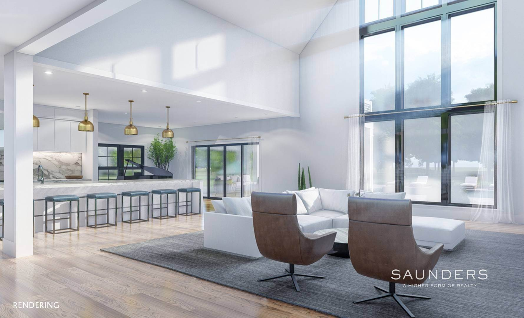 2. Single Family Homes for Sale at New Construction In Sagaponack With Pool 26 Forest Crossing, Sagaponack, Southampton Town, NY 11962