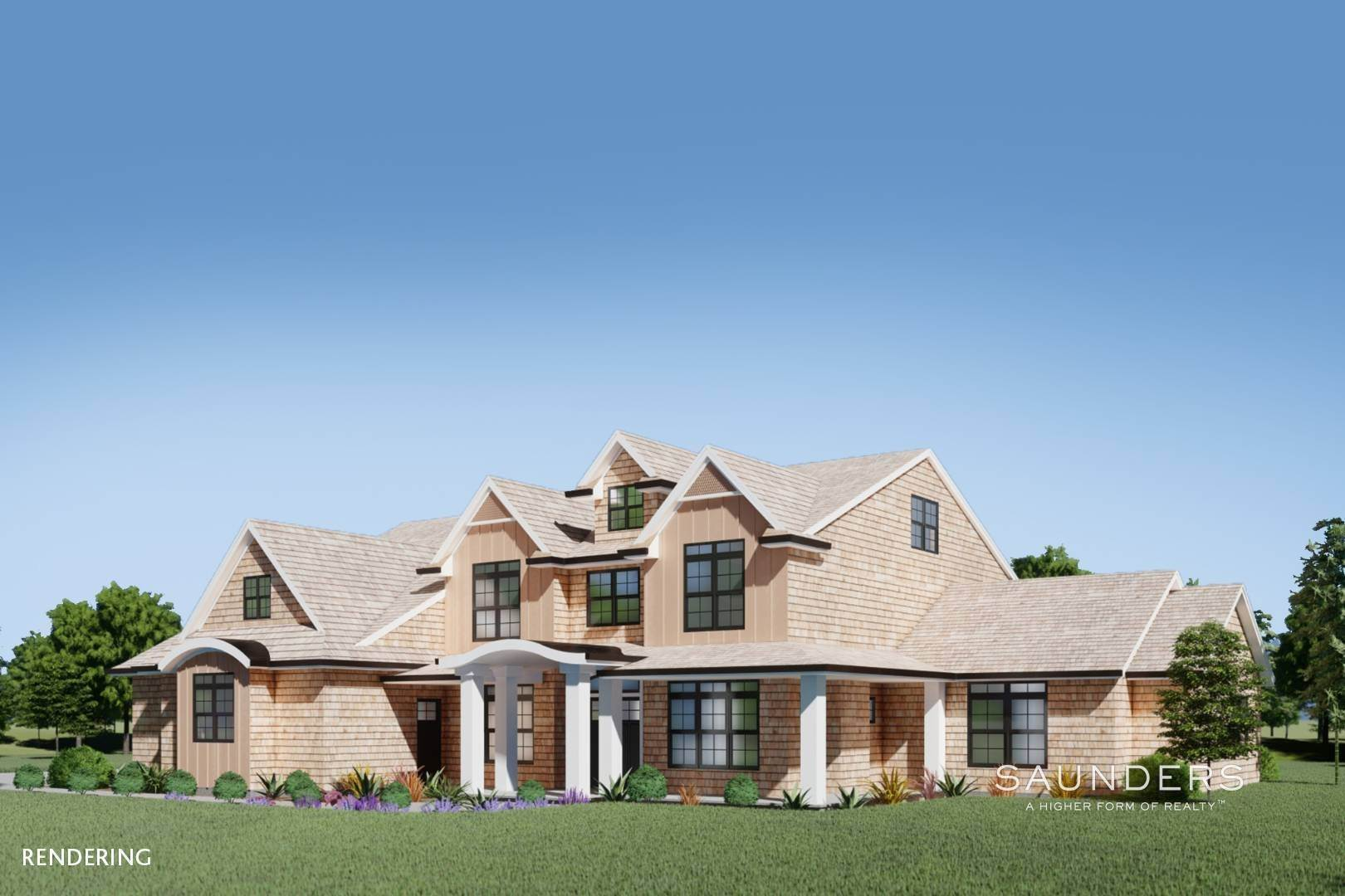 7. Single Family Homes for Sale at New Construction In Sagaponack With Pool 26 Forest Crossing, Sagaponack, Southampton Town, NY 11962
