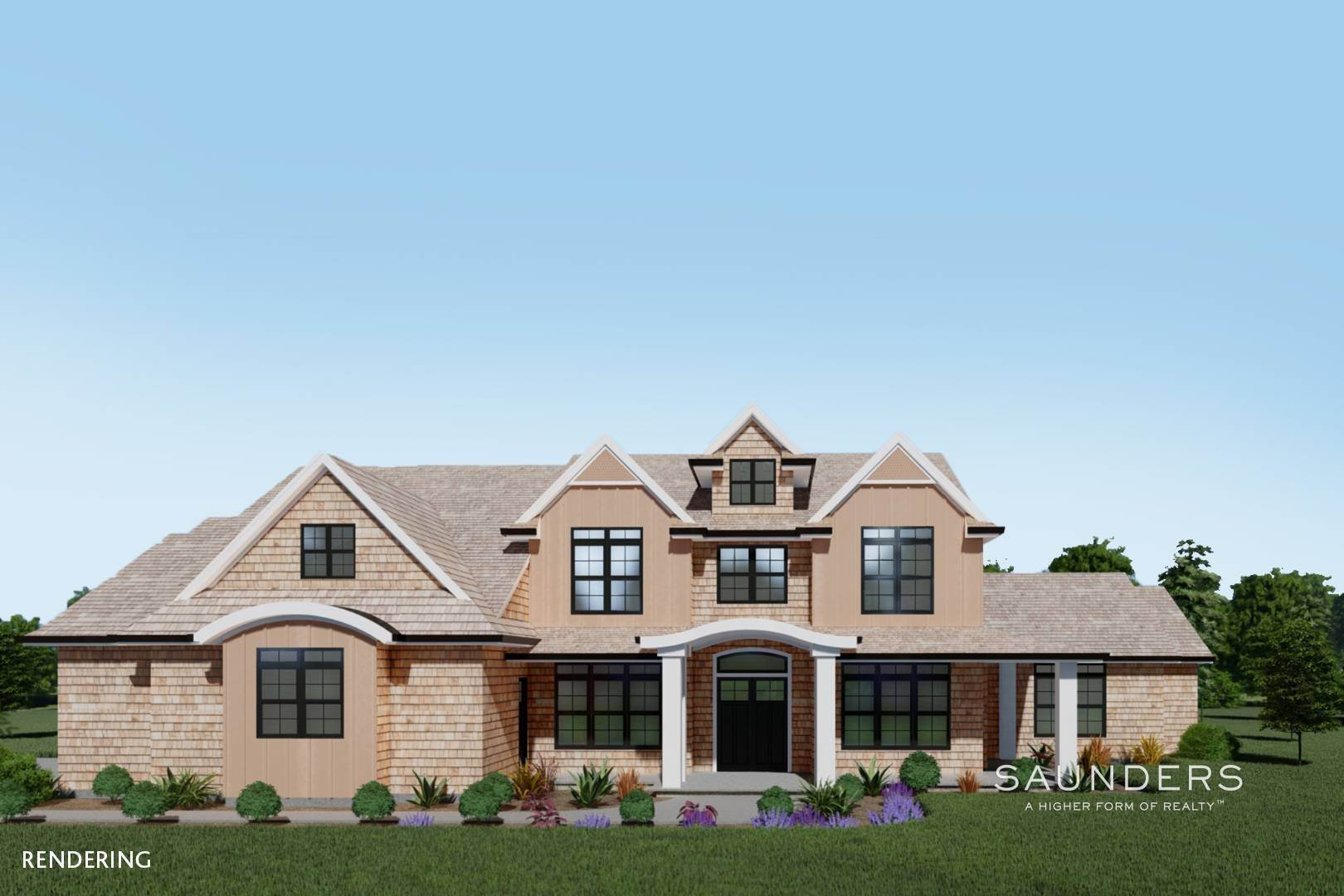 Single Family Homes for Sale at New Construction In Sagaponack With Pool 26 Forest Crossing, Sagaponack, Southampton Town, NY 11962