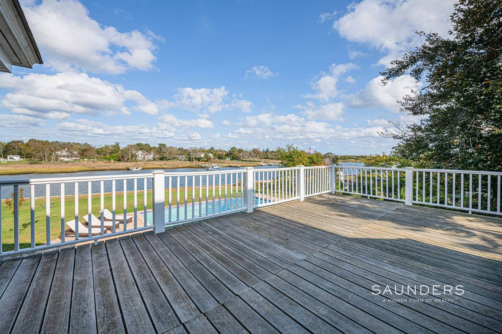 11. Single Family Homes for Sale at South Of Highway Waterfront Traditional In Quogue 21 Old Point Road, Quogue Village, Southampton Town, NY 11959