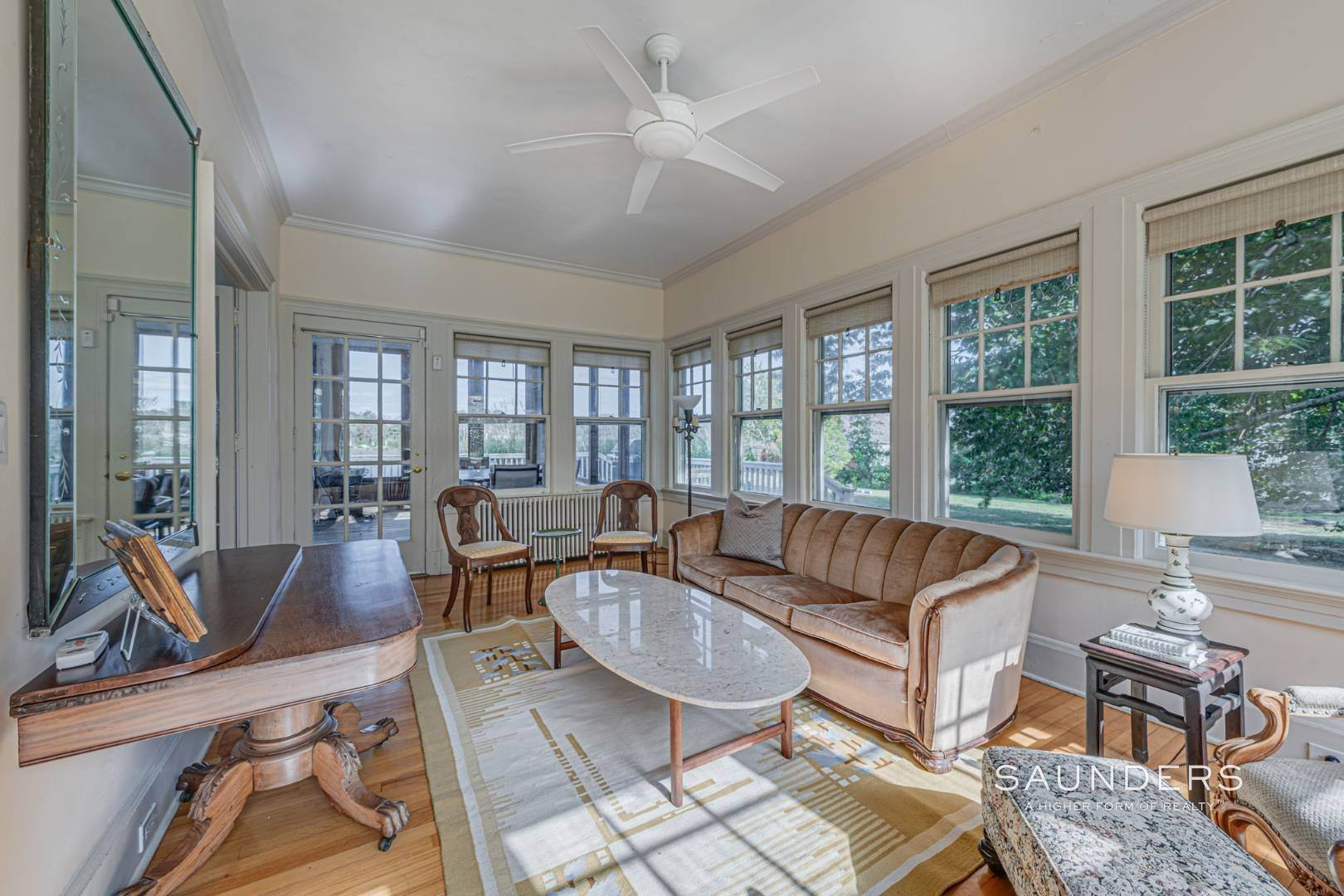 14. Single Family Homes for Sale at South Of Highway Waterfront Traditional In Quogue 21 Old Point Road, Quogue Village, Southampton Town, NY 11959