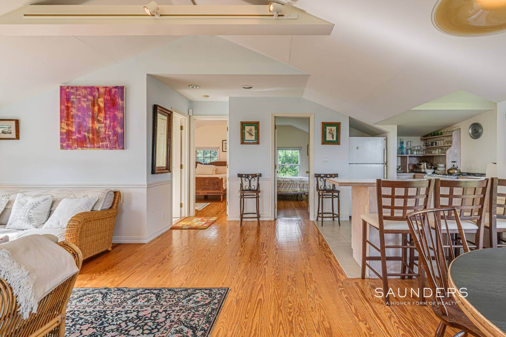 28. Single Family Homes for Sale at South Of Highway Waterfront Traditional In Quogue 21 Old Point Road, Quogue Village, Southampton Town, NY 11959
