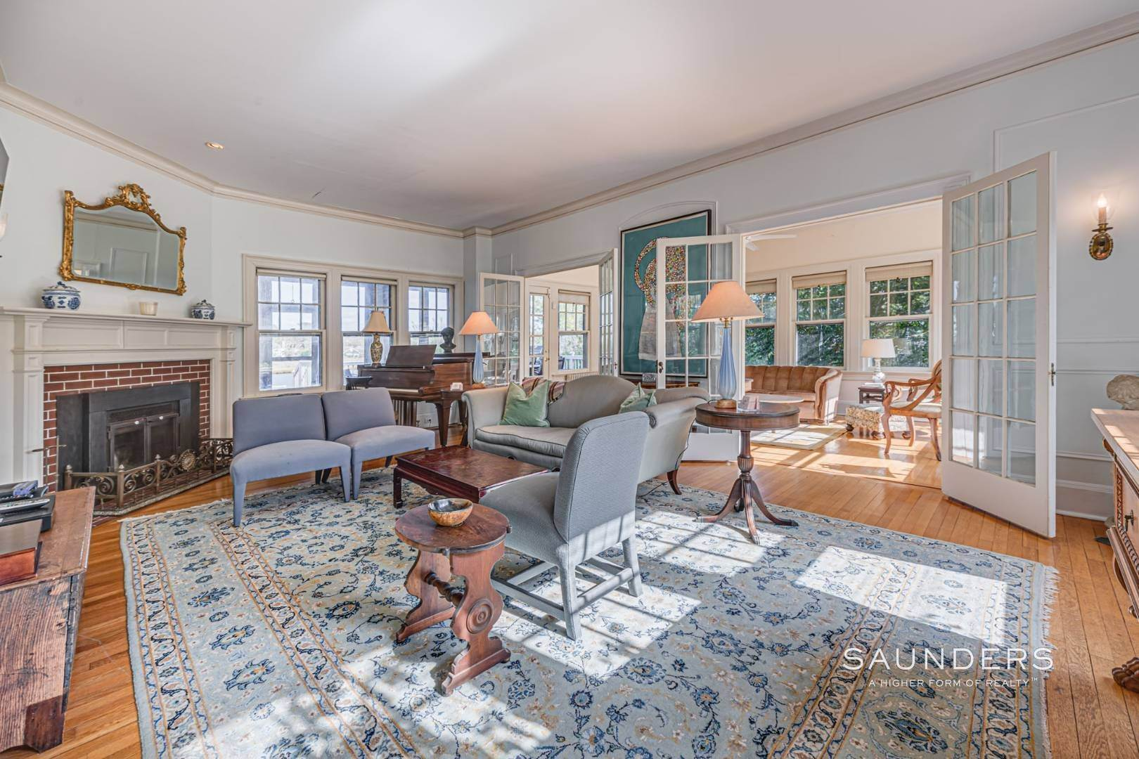 12. Single Family Homes for Sale at South Of Highway Waterfront Traditional In Quogue 21 Old Point Road, Quogue Village, Southampton Town, NY 11959