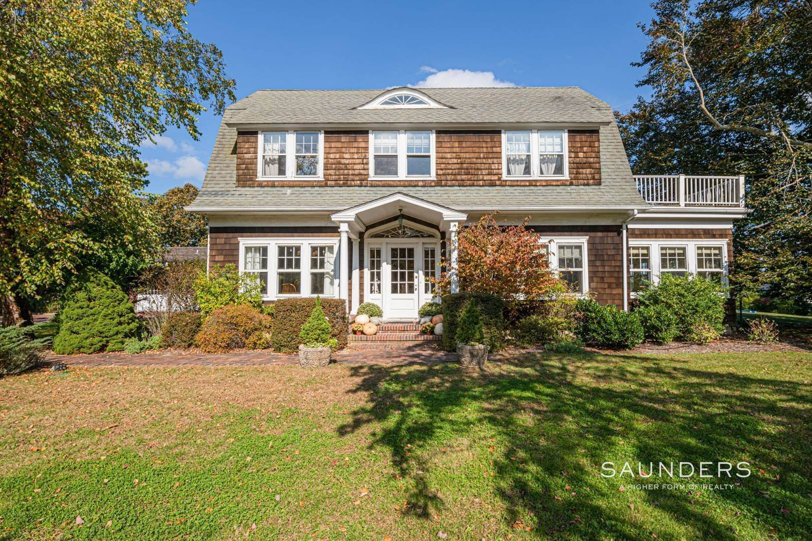 3. Single Family Homes for Sale at South Of Highway Waterfront Traditional In Quogue 21 Old Point Road, Quogue Village, Southampton Town, NY 11959