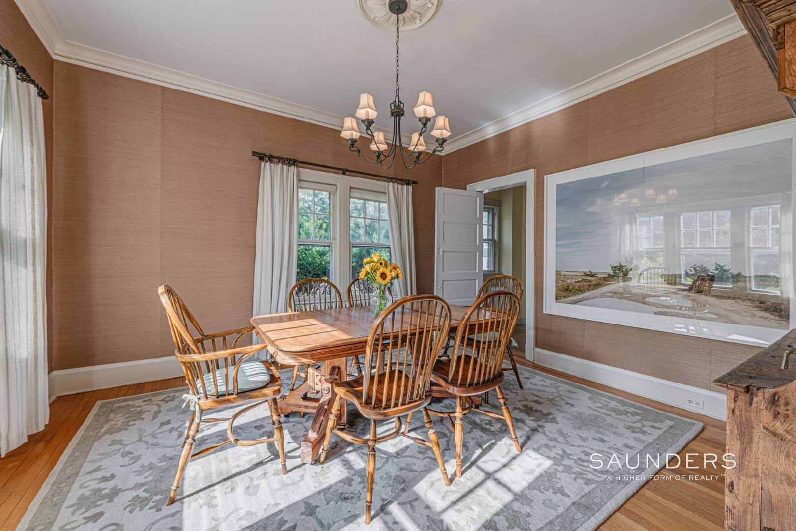 16. Single Family Homes for Sale at South Of Highway Waterfront Traditional In Quogue 21 Old Point Road, Quogue Village, Southampton Town, NY 11959