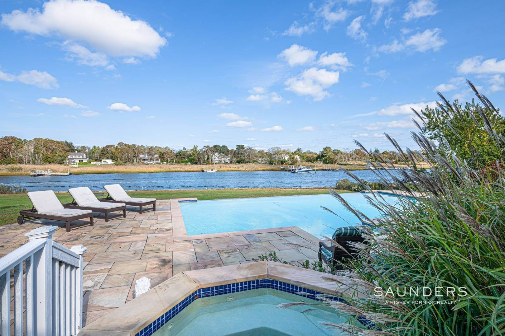 6. Single Family Homes for Sale at South Of Highway Waterfront Traditional In Quogue 21 Old Point Road, Quogue Village, Southampton Town, NY 11959