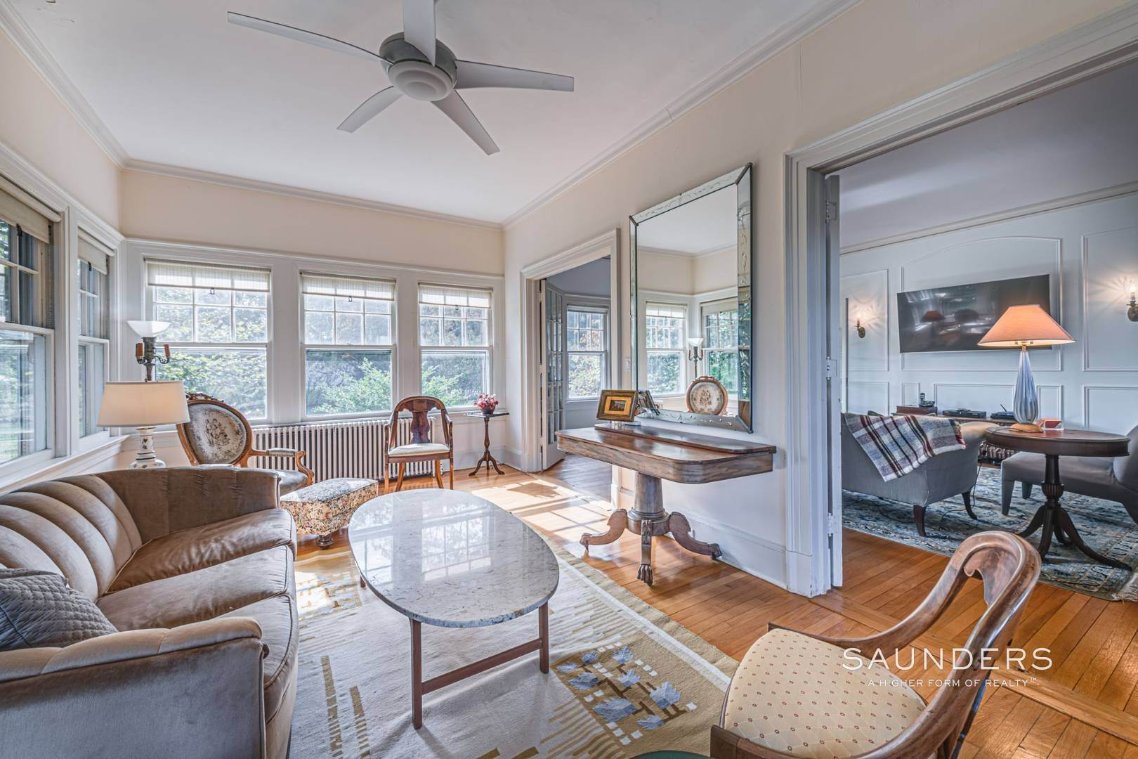 15. Single Family Homes for Sale at South Of Highway Waterfront Traditional In Quogue 21 Old Point Road, Quogue Village, Southampton Town, NY 11959