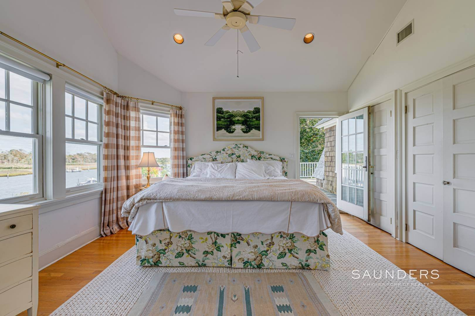 21. Single Family Homes for Sale at South Of Highway Waterfront Traditional In Quogue 21 Old Point Road, Quogue Village, Southampton Town, NY 11959
