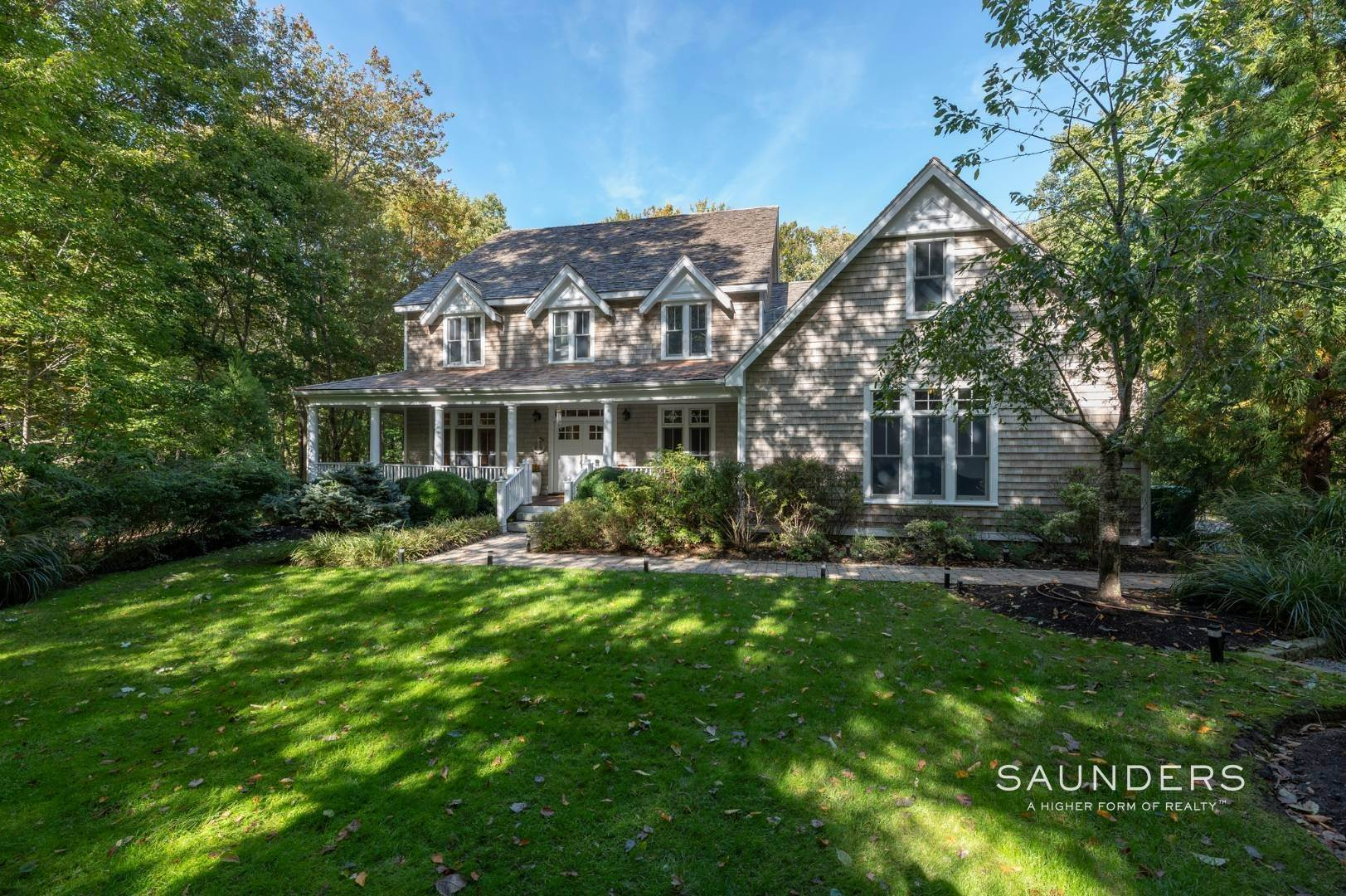 Single Family Homes at A Sag Harbor Rental With Tennis And Beach Access Sag Harbor, Southampton Town, NY 11963