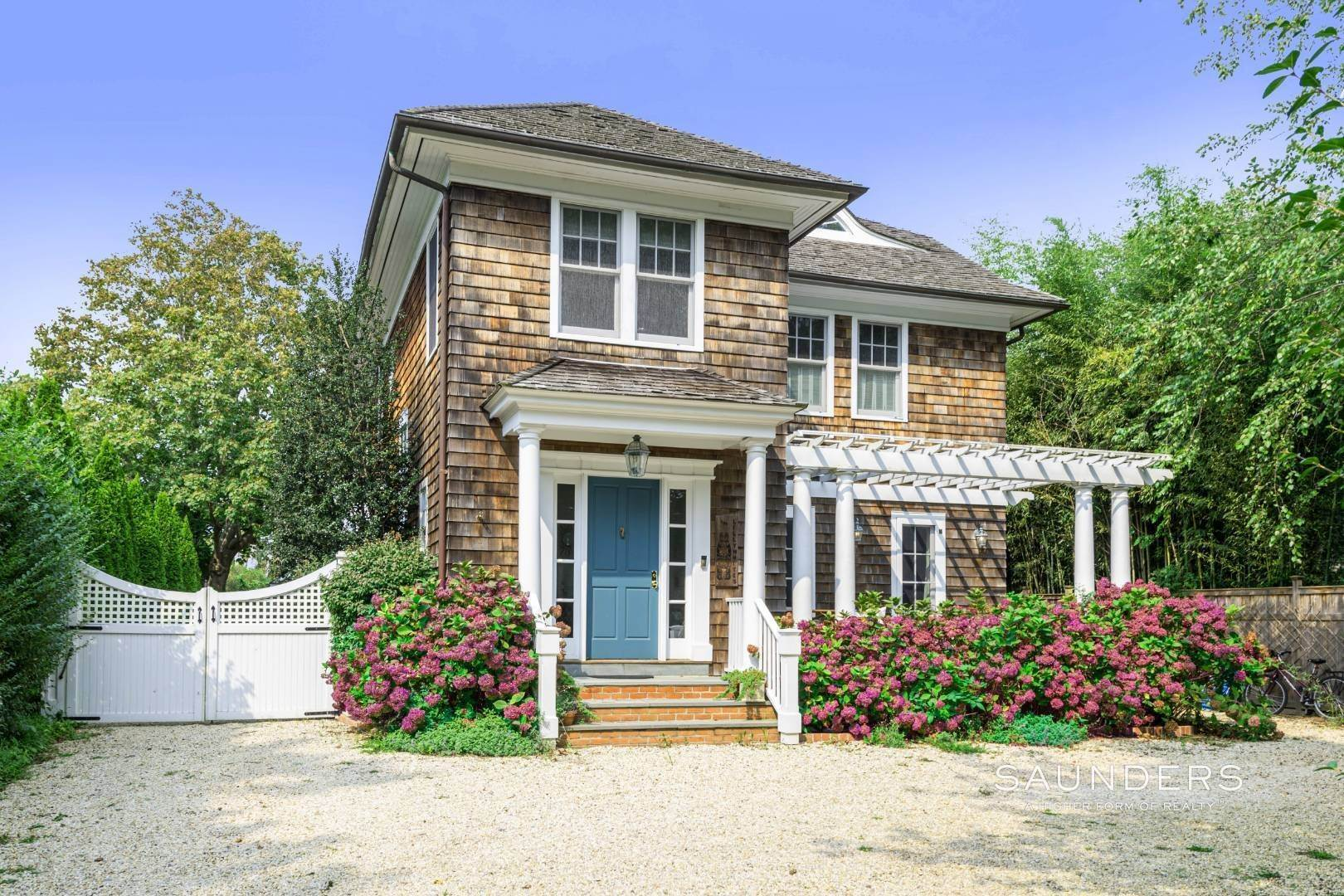 Single Family Homes for Sale at Southampton Classic On Prestigious Toylsome Lane 121 Toylsome Lane, Southampton, Southampton Town, NY 11968