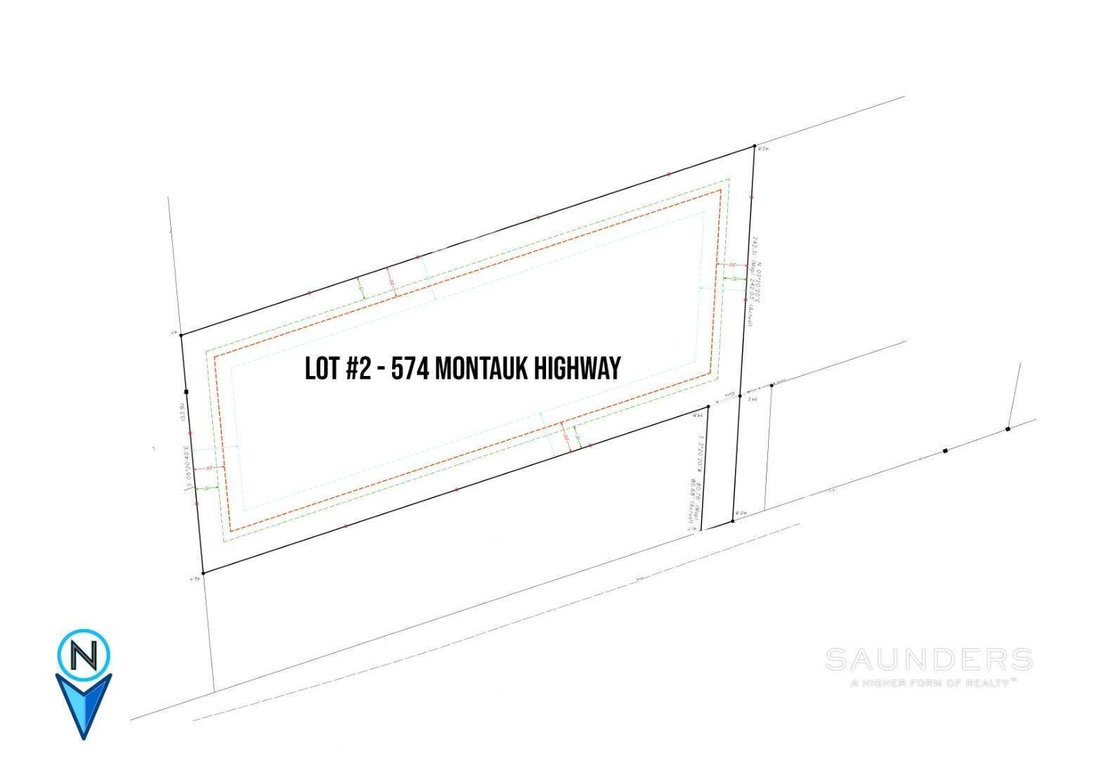 3. Land for Sale at Build South Of The Highway 574 Montauk Highway, Amagansett, East Hampton Town, NY 11937