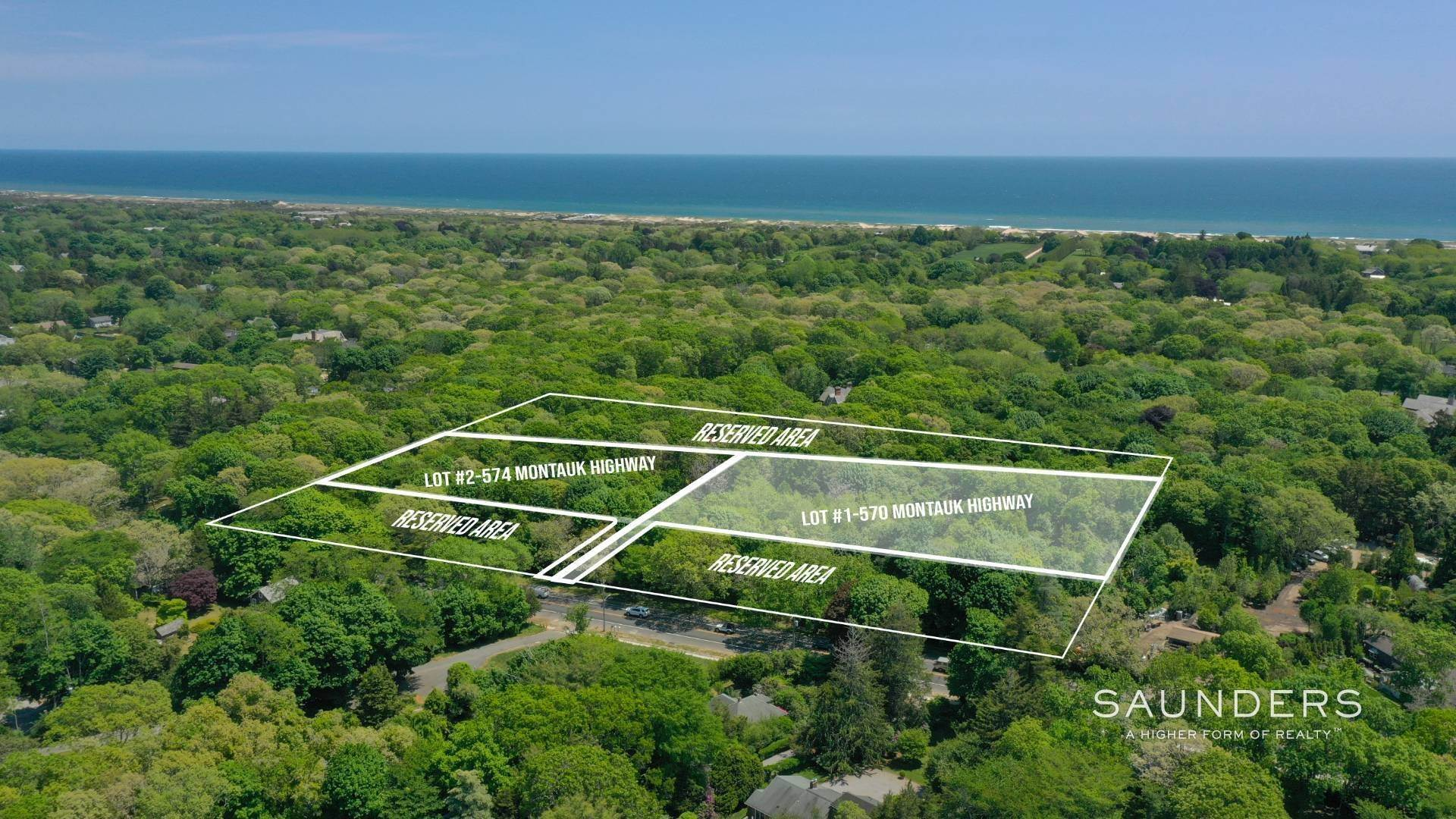 Land for Sale at Build South Of The Highway 574 Montauk Highway, Amagansett, East Hampton Town, NY 11937