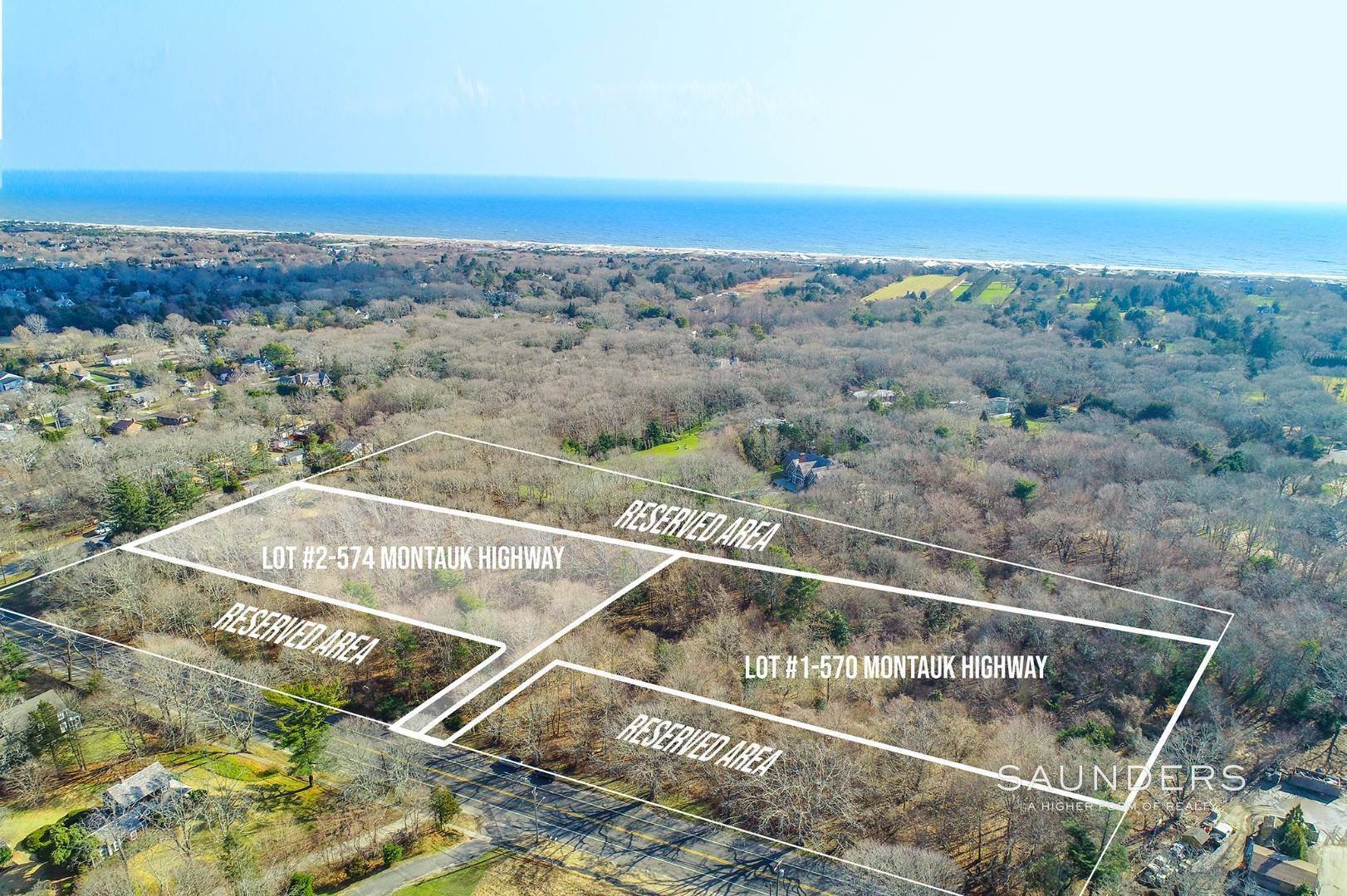 Land for Sale at Build South Of The Highway 570 Montauk Highway, East Hampton, East Hampton Town, NY 11937