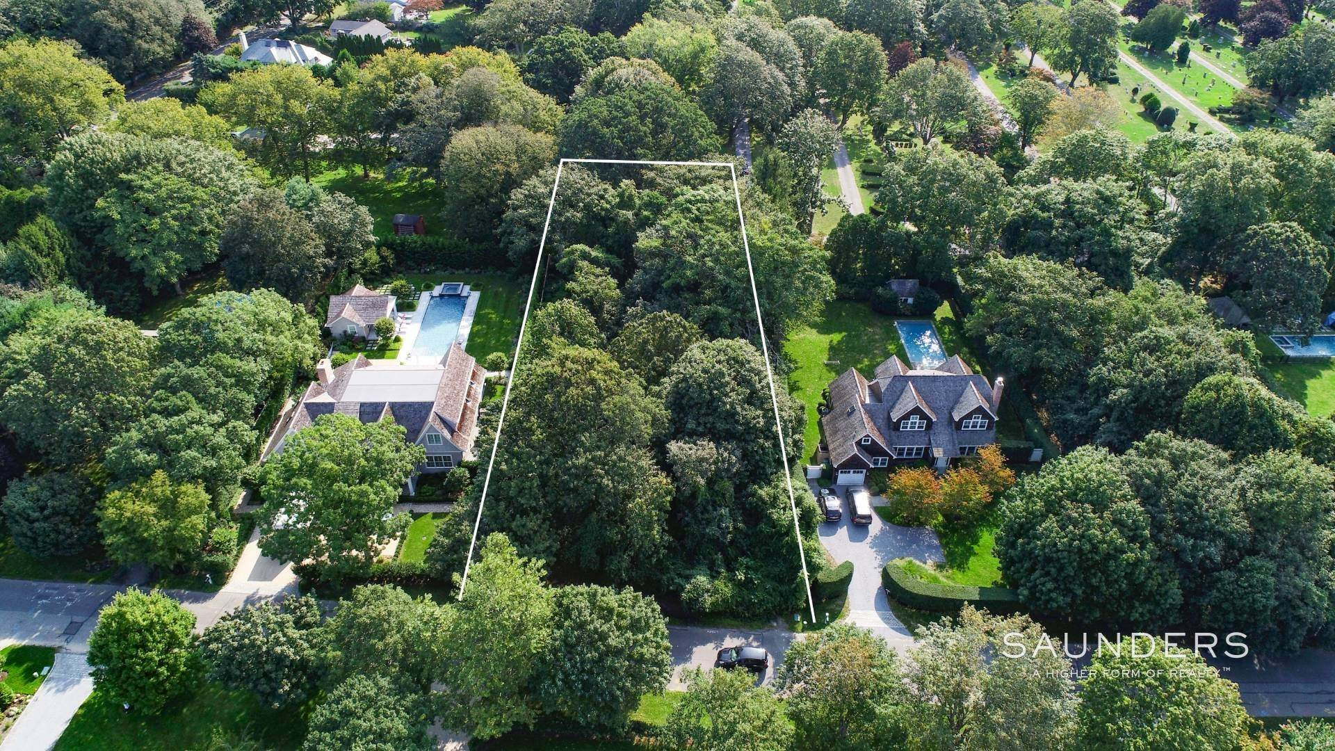 Land for Sale at Just Listed !! East Hampton Village Fringe Land 76 Gould St, East Hampton, East Hampton Town, NY 11937