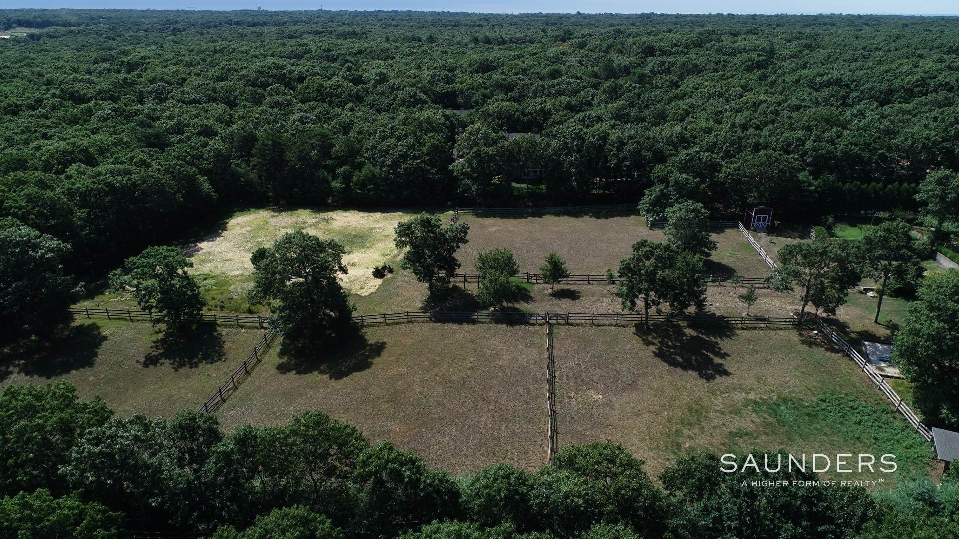 Single Family Homes for Sale at Private Estate Tucked Outside Of East Hampton Village 181 Middle Highway, East Hampton, East Hampton Town, NY 11937