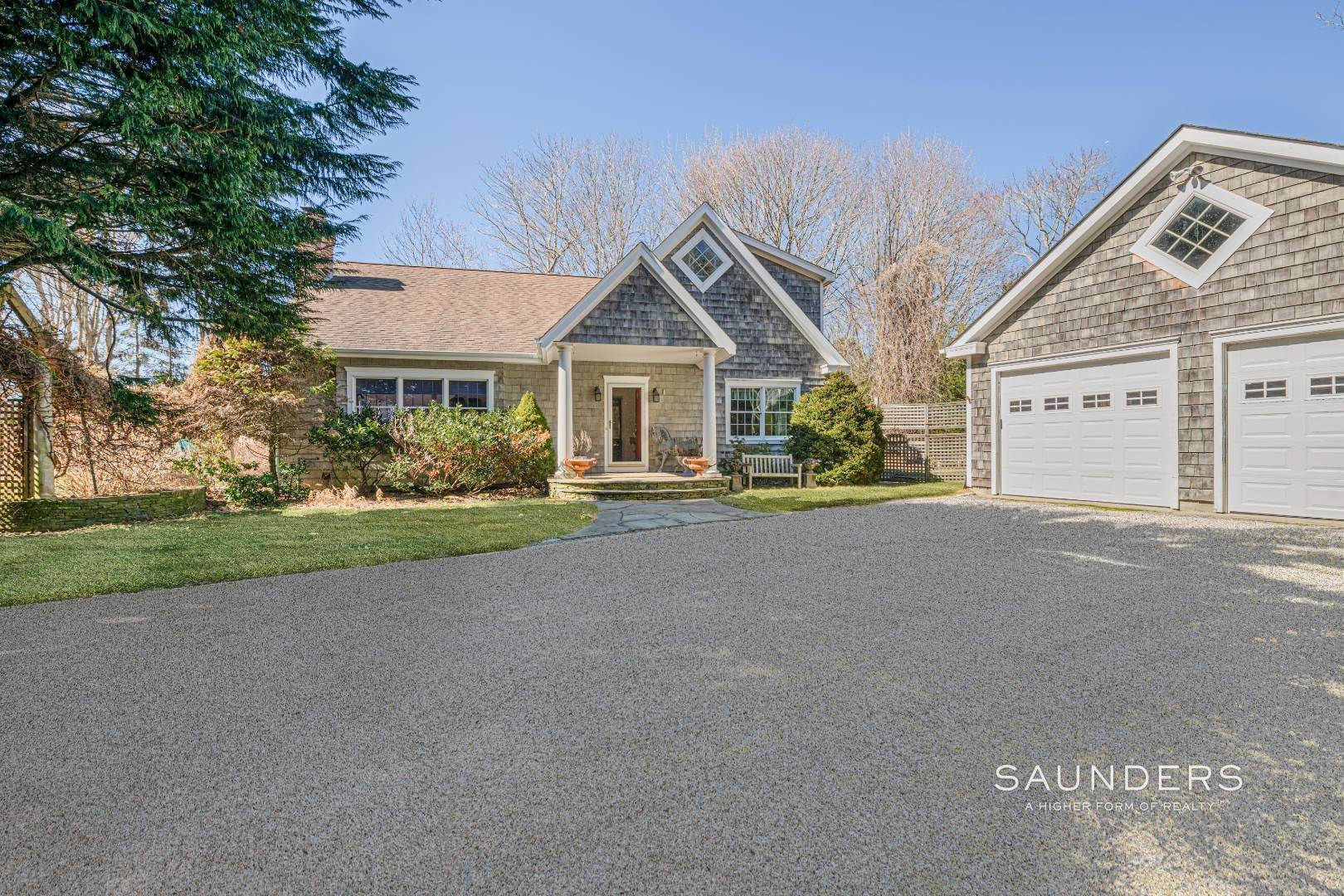Single Family Homes for Sale at Village Fringe Beauty 73 Accabonac Road, East Hampton, East Hampton Town, NY 11937