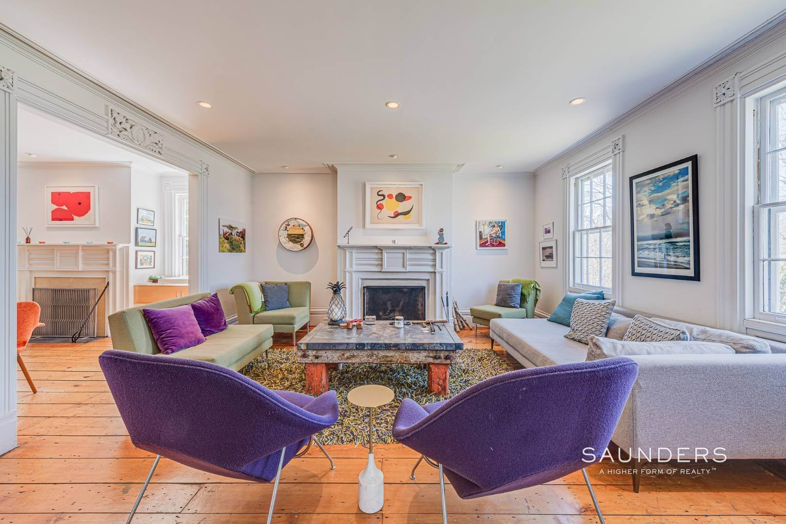 2. Single Family Homes for Sale at Historic Home In Sag Harbor Village 10 High Street, Sag Harbor, Southampton Town, NY 11963