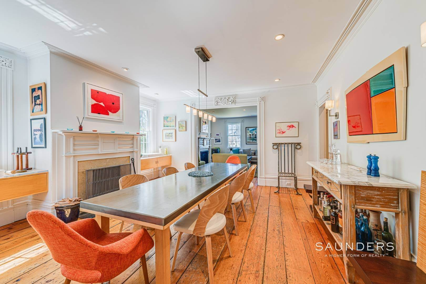 6. Single Family Homes for Sale at Historic Home In Sag Harbor Village 10 High Street, Sag Harbor, Southampton Town, NY 11963