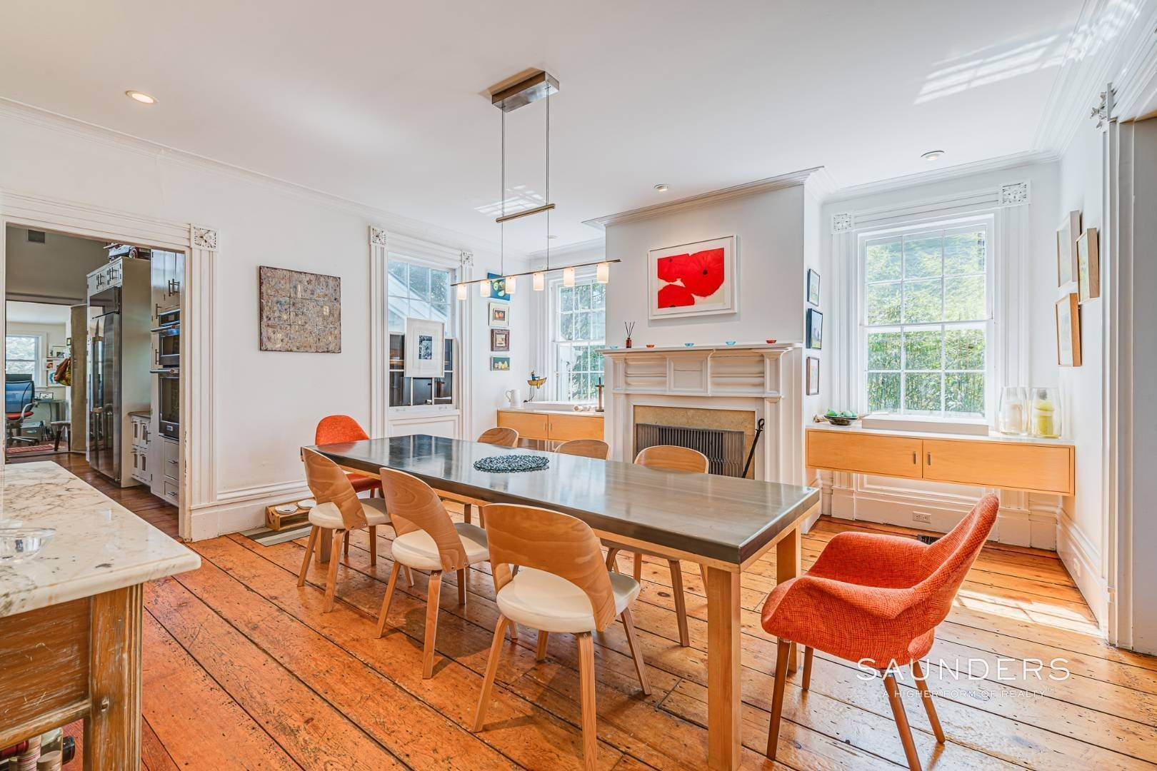 5. Single Family Homes for Sale at Historic Home In Sag Harbor Village 10 High Street, Sag Harbor, Southampton Town, NY 11963