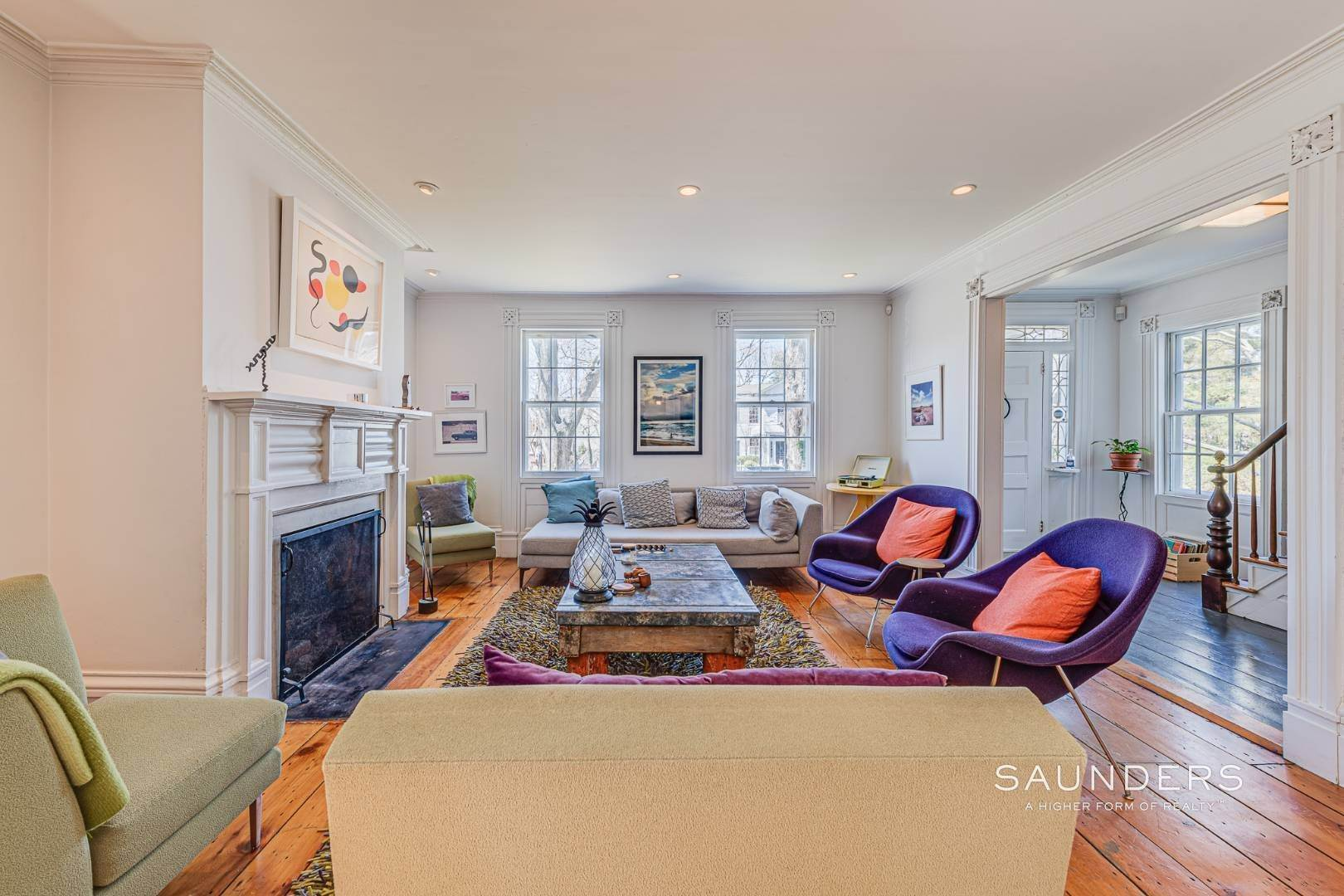 3. Single Family Homes for Sale at Historic Home In Sag Harbor Village 10 High Street, Sag Harbor, Southampton Town, NY 11963