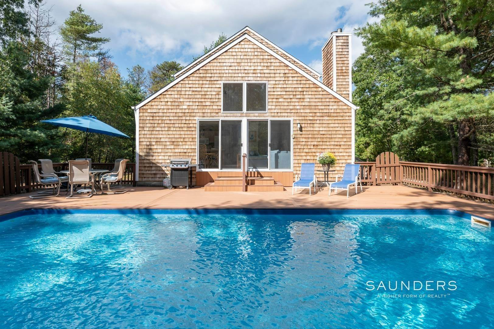 4. Single Family Homes for Sale at Privately Situated On 5 Acres Close To Sag Harbor Village 19 Swamp Road, East Hampton, East Hampton Town, NY 11937