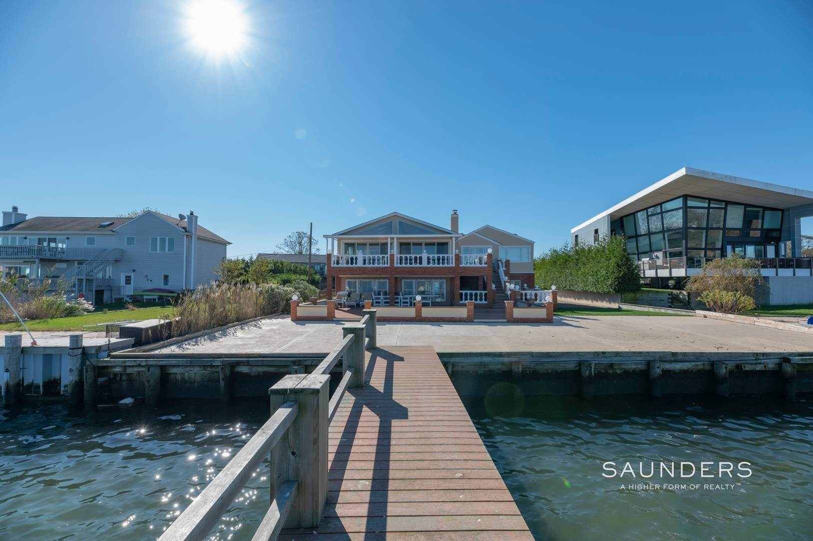 3. Single Family Homes for Sale at Expansive Water Views In East Quogue 69b Little Pine Lane, East Quogue, Southampton Town, NY 11942