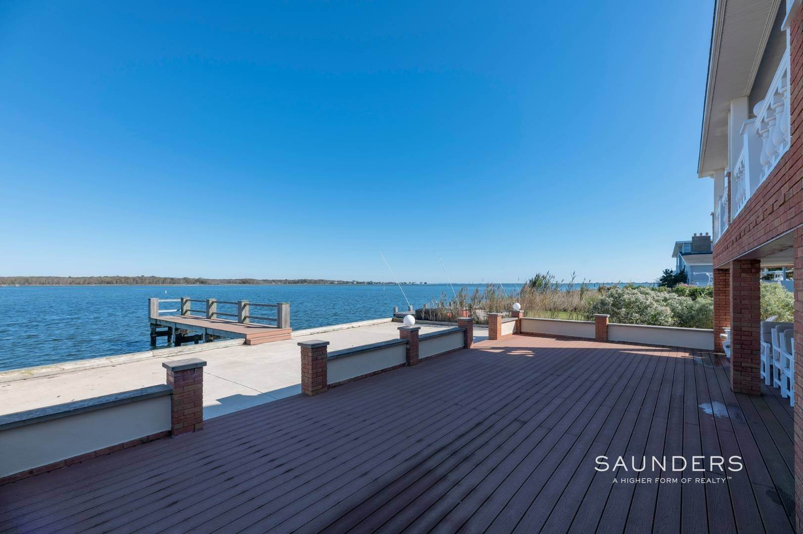 Single Family Homes for Sale at Expansive Water Views In East Quogue 69b Little Pine Lane, East Quogue, Southampton Town, NY 11942