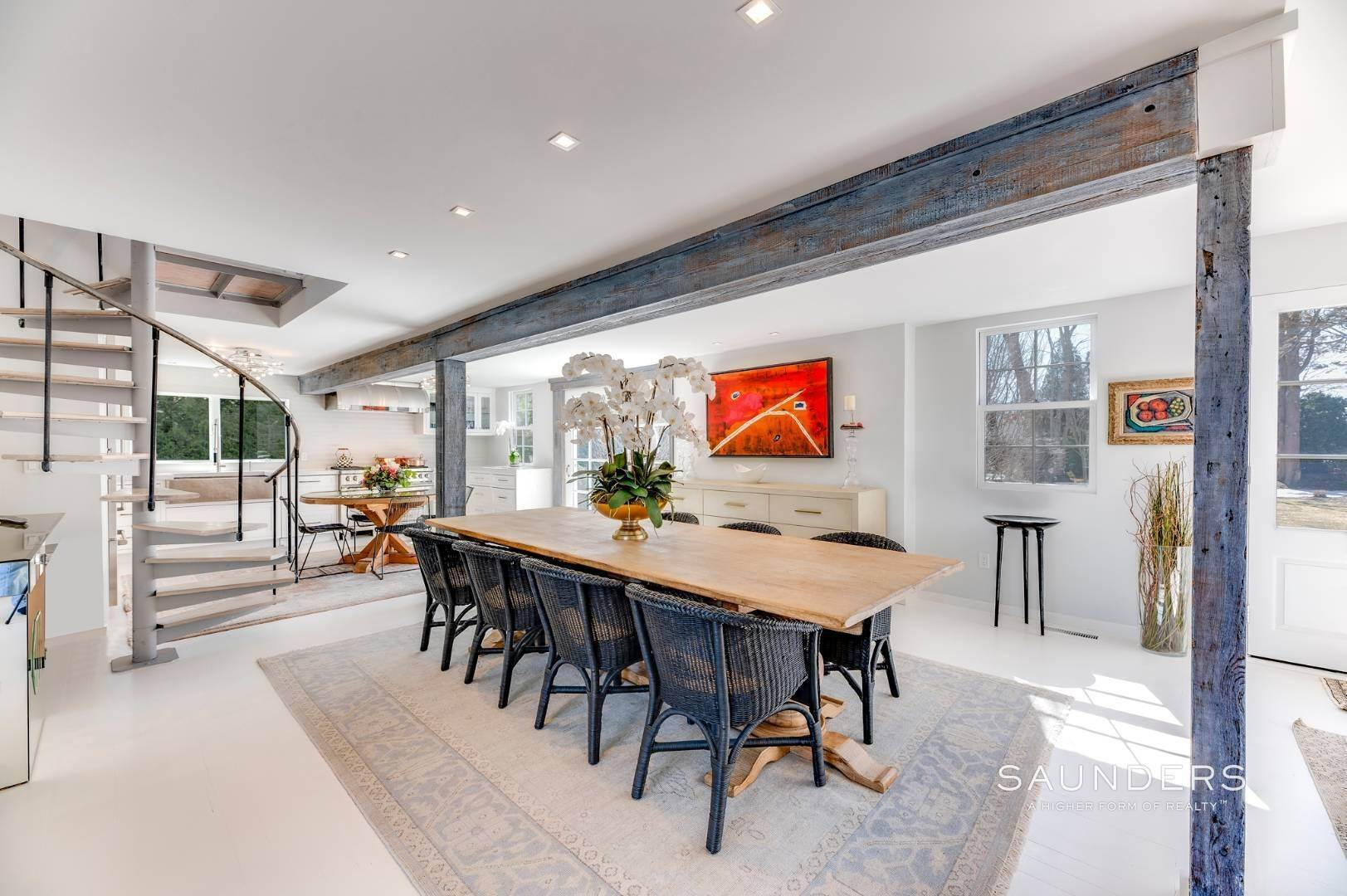 8. Single Family Homes for Sale at Renovated Boutique Barn 407 North Sea Mecox Road, Southampton, Southampton Town, NY 11968