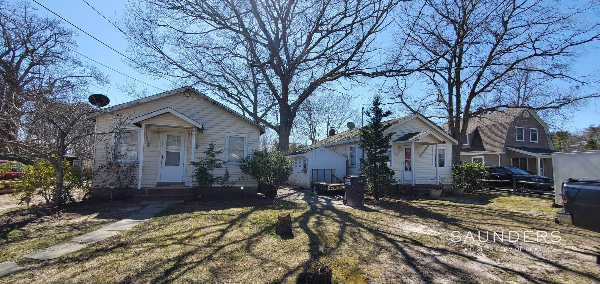 Single Family Homes for Sale at Income Producing Property In E. Quogue & Subdivision Opportunity 22 Vail Avenue, East Quogue, Southampton Town, NY 11942