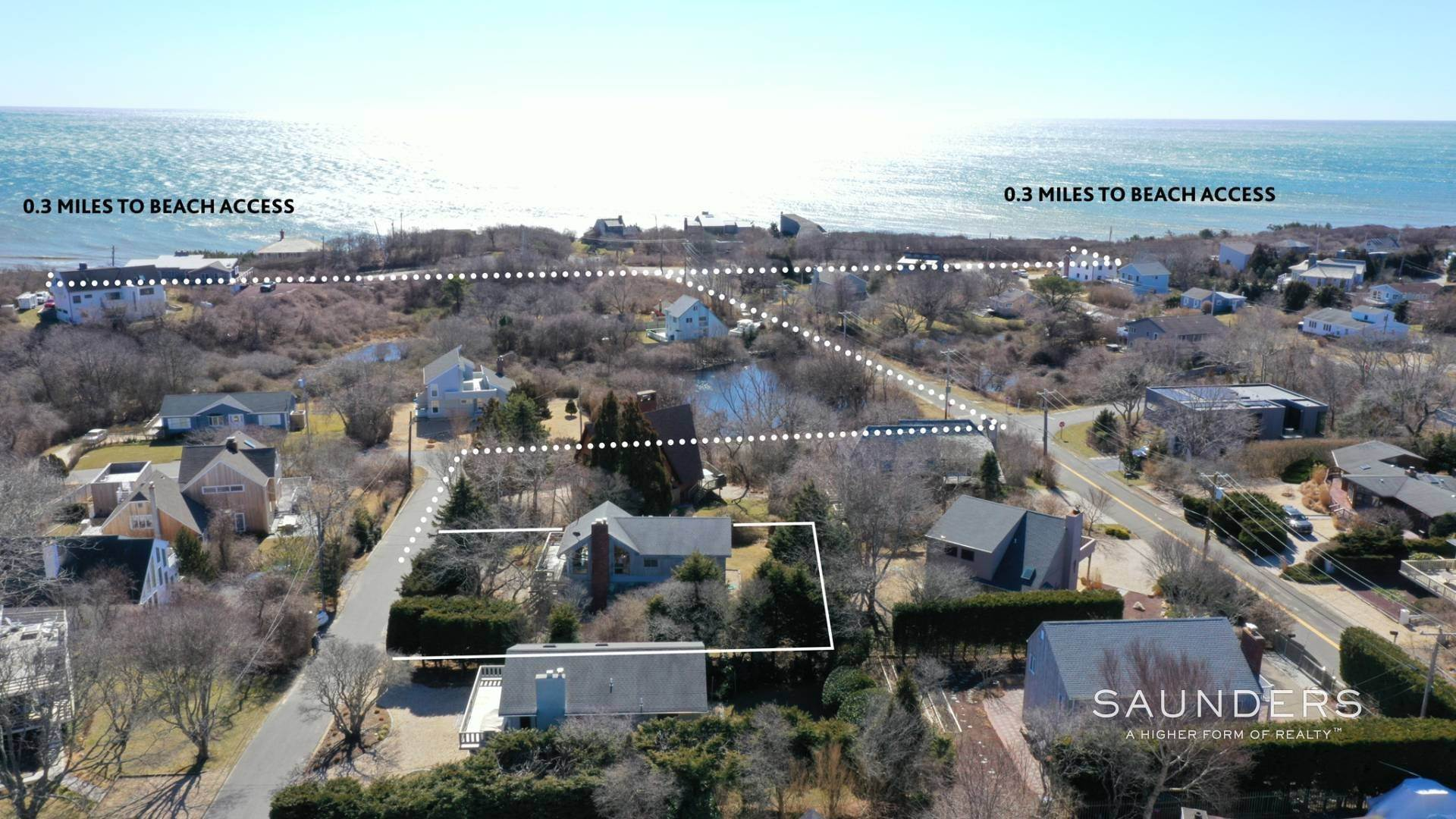 Single Family Homes for Sale at Hither Hills Beach House 7 Harrison Drive, Montauk, East Hampton Town, NY 11954