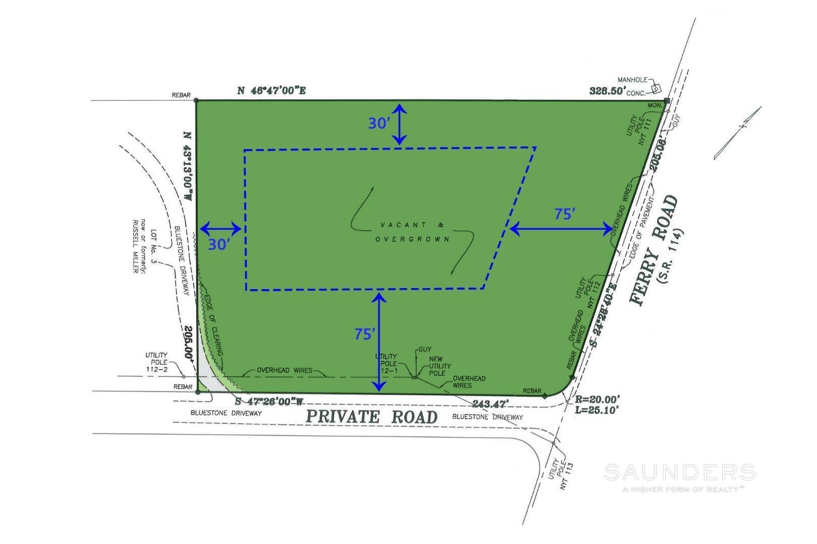Land for Sale at North Haven - Land For Sale 79 Ferry Road, Sag Harbor, Southampton Town, NY 11963
